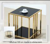 2017最新のデザイン現代ガラスコーヒーテーブル