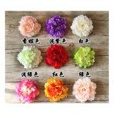Acessórios para cabeça de pétalas de flores de bricolage decoração de casamento festa Peony