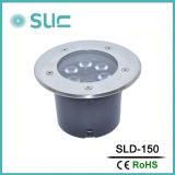 Indicatore luminoso sotterraneo esterno di IP67 LED