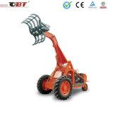 Pá carregadeira de rodas 3 com rotação de 360 graus para a cana-de agarrar