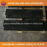 Placa do desgaste da solda do carboneto do cromo para o moinho do vertical do cimento