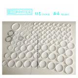 Anello di ceramica di Zirconia bianco per la stampante del rilievo della tazza dell'inchiostro