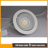 45W lámpara ajustable del techo del cardán LED para la iluminación comercial del LED