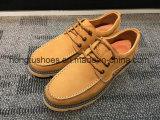 Мужчин новейших повседневная обувь из натуральной кожи