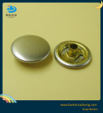Los botones de ajuste de anillo con el botón de níquel de metal color Snaps
