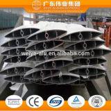 Profils en aluminium expulsés pour le guichet de climatiseur/auvents en aluminium