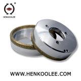 유리제 기계를 위한 금속 노예 다이아몬드 회전 숫돌
