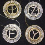 Colar nova bonita do pendente do alfabeto do Zirconia das senhoras do projeto