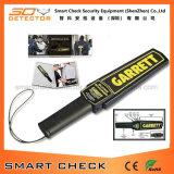 Metal detector tenuto in mano di obbligazione eccellente dello scanner con l'allarme e la vibrazione