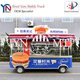 Carro elétrico do alimento do carro de jantar e cozimento do carro