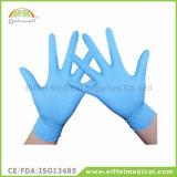 Перчатки рассмотрения латекса медицинского устранимого порошка свободно