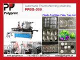 Tapa de la máquina de formación de PET para el papel Cup 2018ventas (PPBG-500)