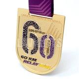 Médaille faite sur commande en gros de forme d'écran protecteur de trois couleurs