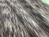 Tela gris del Spandex del poliester para la ropa de deportes (HD2215429)