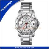 Het Horloge van de Chronograaf van de Luxe van de goede Mensen van het Ontwerp van de Prijs Nieuwe met Blauwe Wijzerplaat Specail