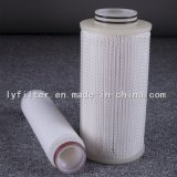 Fabrikant 30 de Duim Geplooide Pes Patroon van de Filter van het Water voor de Filtratie van de Industrie