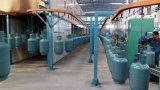 La bombola per gas automatica piena di GPL ricondiziona la riga