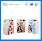 Коробка изготовленный на заказ картона печатание Cmyk бумажная упаковывая для сливк внимательности волос