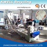 Plástico de la capacidad grande que recicla la máquina de granulación, estirador del gránulo del PVC