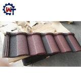 La naturaleza Frequently-Used ondulado de color teja metálica recubierta de piedra