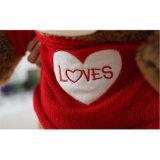 Grand ours de peluche créatrice molle faite sur commande le jouet bourré le meilleur par cadeau