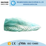 床の保護のための使い捨て可能な反スキッド靴カバーの間の