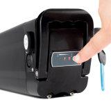 Batterij van de Vissen van de Lossing van de bodem de Zilveren 36V 48V 10ah in Zwarte Kleur