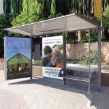 Paragem de autocarro da Estação de abrigos cartazes publicitários Exibir