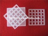 Baiboの溶けるアイボリーの正方形の水晶ガラスのるつぼ