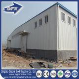 Da configuração rápida elevada da ascensão do baixo custo armazém pré-fabricado da construção de aço com a placa de aço ondulada