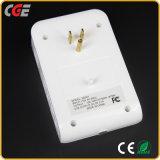 Art elektrischer USB-schneller aufladenkanal und Kontaktbuchse USB mit Lampen des Nachtlicht-LED