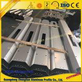 Perfiles de aluminio modificados para requisitos particulares para el marco eficiente de la bombilla de la lámpara de calle