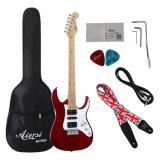 Aiersi 상표 도매 주식 다채로운 Prs 일렉트릭 기타