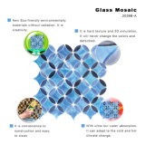 Azulejo de mosaico de cristal coloreado fondo de la TV
