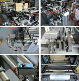 Automatischer biodegradierbarer Shirt-Abfall-Plastiktasche, die Maschine herstellt