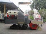 4lz-2.2z 1530mmの小さい米タンクが付いているゴム製クローラーコンバイン収穫機