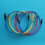 10FT CAT6A загрузился соединительный кабель LSZH серого цвета