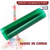 Тип зеленого цвета пленки окна для декоративной
