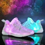 Het LEIDENE Kleurrijke Unisex- Navulbare Licht van Schoenen op Schoenen voor Nacht