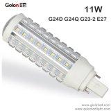 360D 7W 9W 11W G24D G24Q à 4 broches Pl de lumière à LED