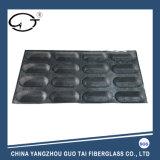 Non-Stick noir 16 voies de haute qualité sous forme de pain en silicone