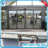 Sistema automático de la puerta de vidrio de desplazamiento