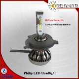 Фара луча Pi68 6000k СИД Филипп Hi/Low для автомобиля