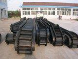 De rubber Transportband van de Zijwand Voor het Materiële Vervoeren van de Helling
