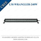 barra ligera de conducción recta del Wrangler LED del jeep de la viga combinada campo a través 240W 32.2 pulgadas