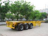 40 Fuß 3axles Tanker-Chassis-Schlussteil-