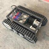 O chassis pequeno robô (100 width rasto de borracha)