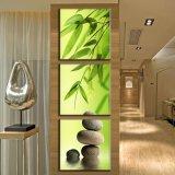 3 Stück-heißer Verkaufs-moderne Wand-Farbanstrich-Stein-Farbanstrich-Raum-Dekor-Wand-Kunst-Abbildung angestrichen auf Segeltuch-Ausgangsdekoration Mc-214