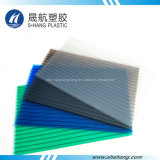Panneau en plastique creux en polycarbonate foncé brillant brillant