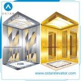 미러 에칭 오두막을%s 가진 450~1000kg 기계 Roomless 상승 전송자 엘리베이터